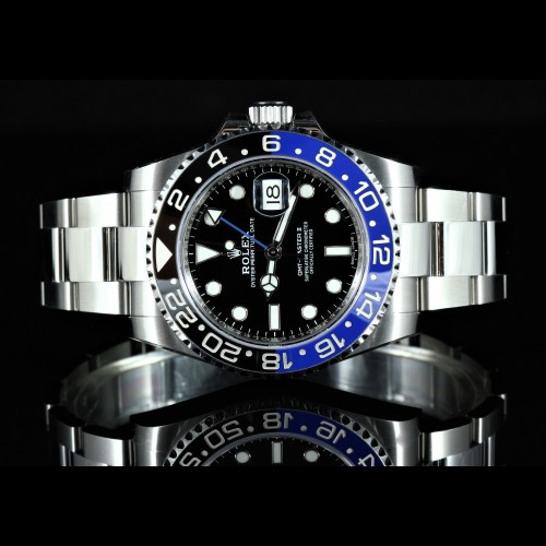 "GMT MASTER ""BATMAN"""