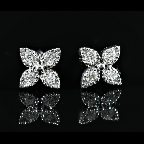Paires de puces diamants