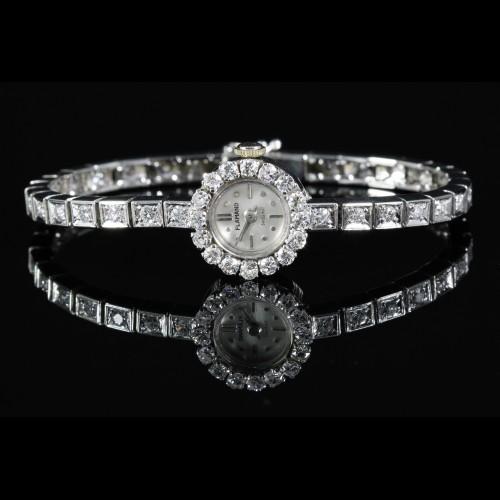 Montre bracelet diamants