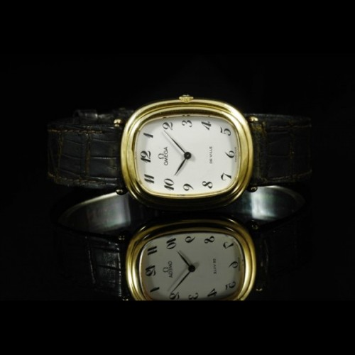 Omega Vintage 50's yellow gold