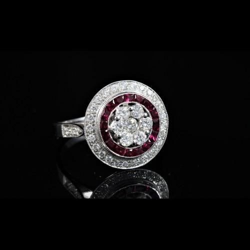 Bgaue diamants et rubis