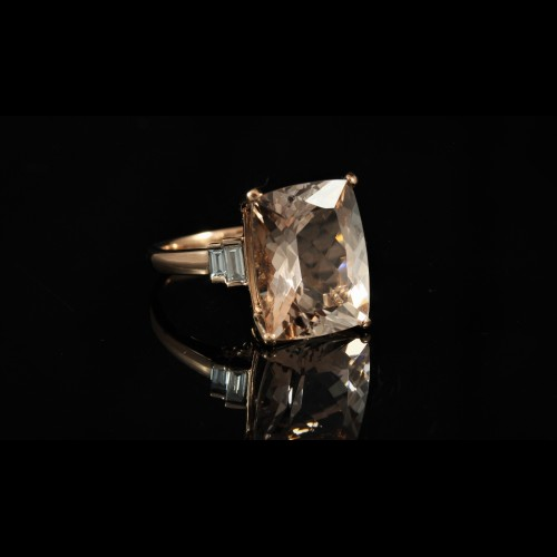 Bague Morganite